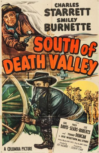 South of Death Valley Poster