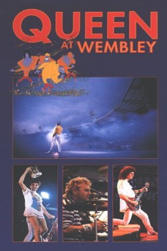 Queen - Live at Wembley Stadium Poster