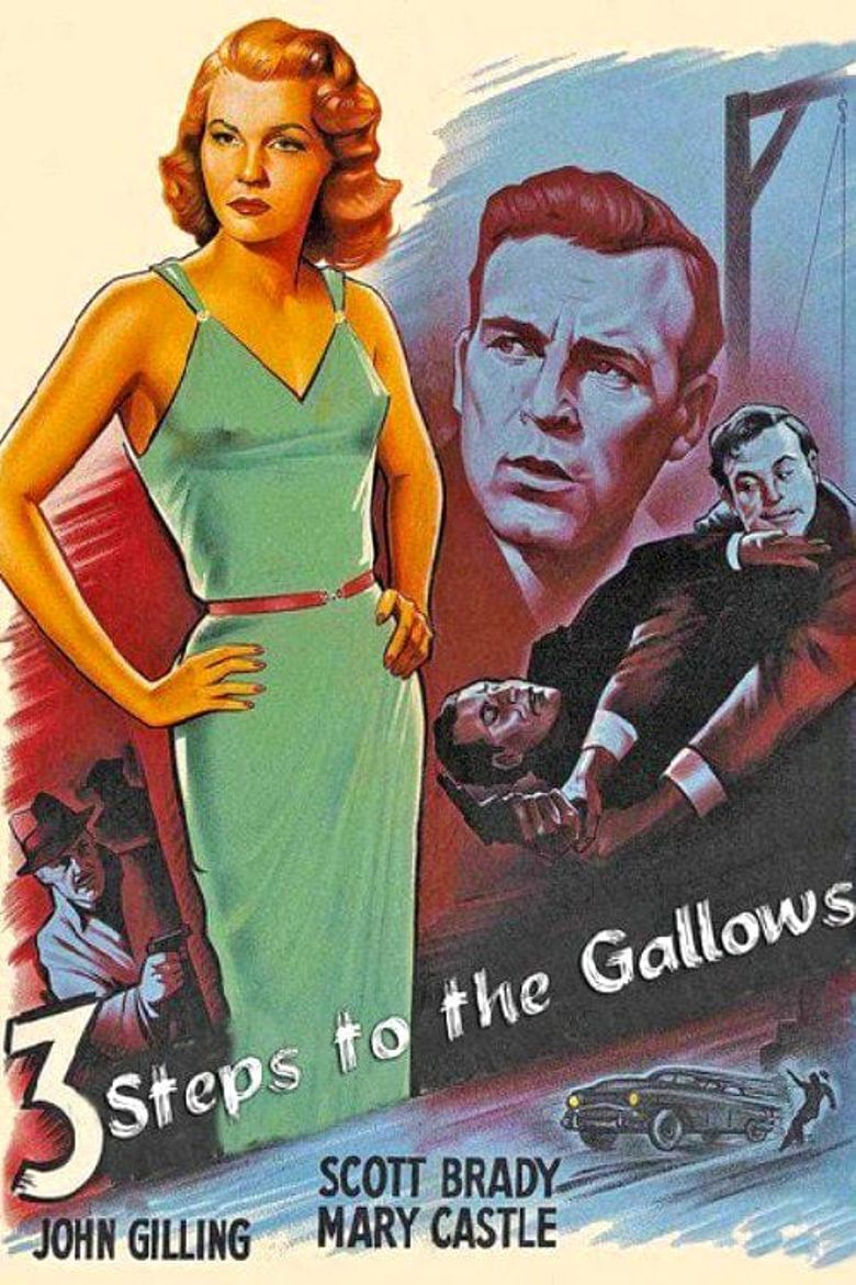 Three Steps to the Gallows Poster
