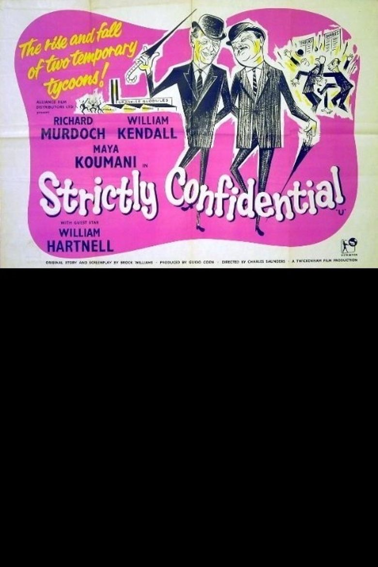 Strictly Confidential Poster