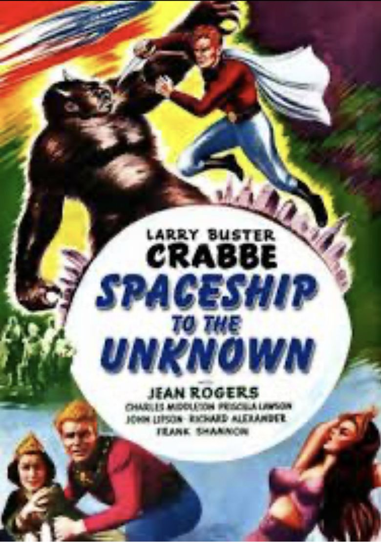 Spaceship To The Unknown Poster