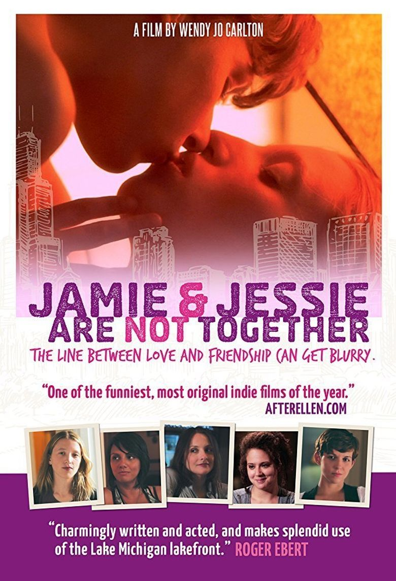 Jamie and Jessie Are Not Together Poster