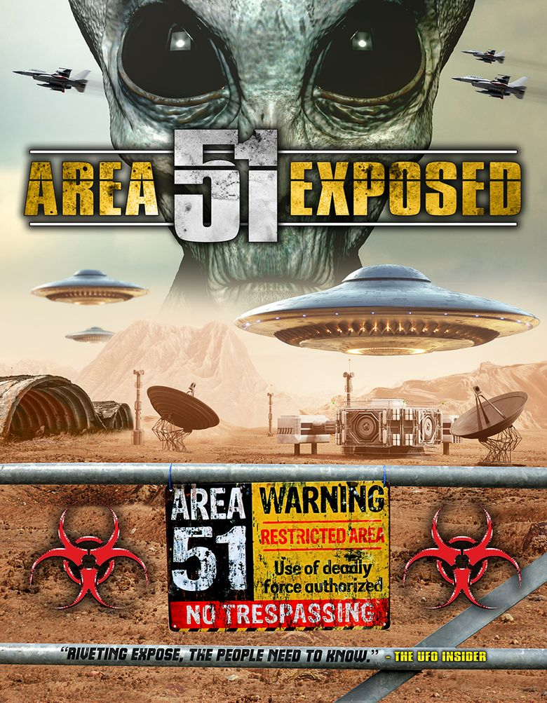 Area 51 Exposed Poster