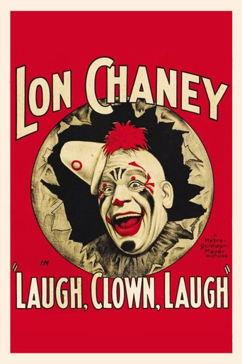 Laugh, Clown, Laugh Poster