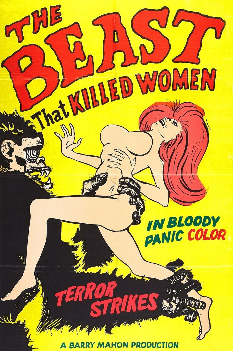 The Beast That Killed Women Poster