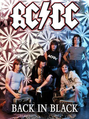 AC/DC Back in Black Poster