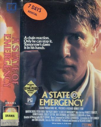 A State of Emergency Poster