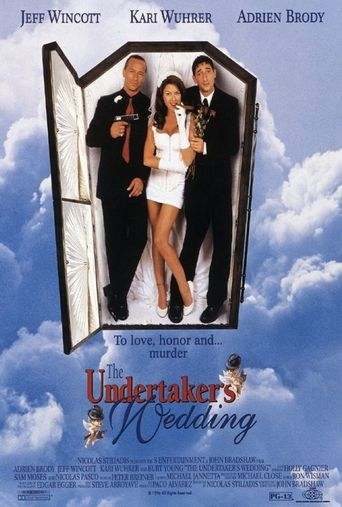 The Undertaker's Wedding Poster