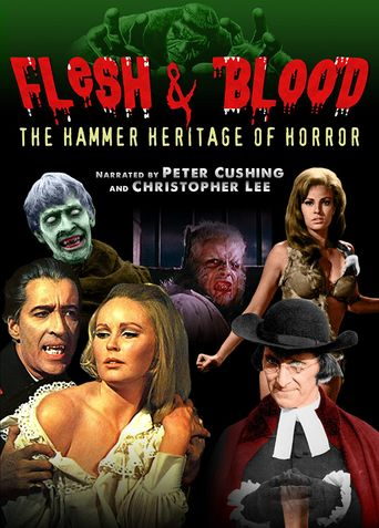 Flesh and Blood: The Hammer Heritage of Horror Poster