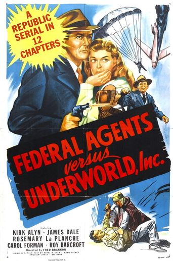 Federal Agents vs. Underworld, Inc. Poster