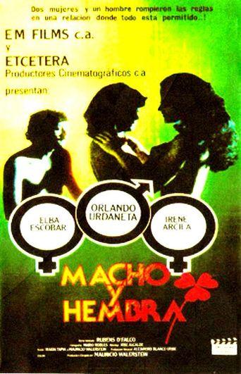 Macho y hembra Poster