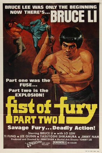 Fist of Fury 2 Poster