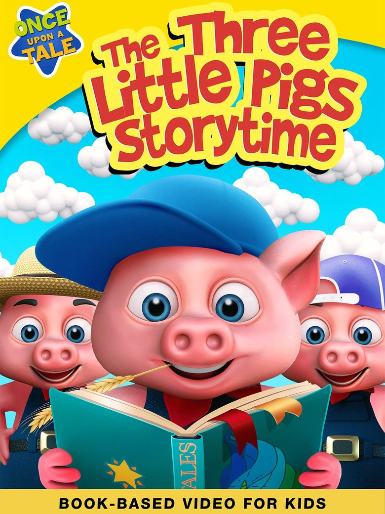 The Three Little Pigs Storytime Poster