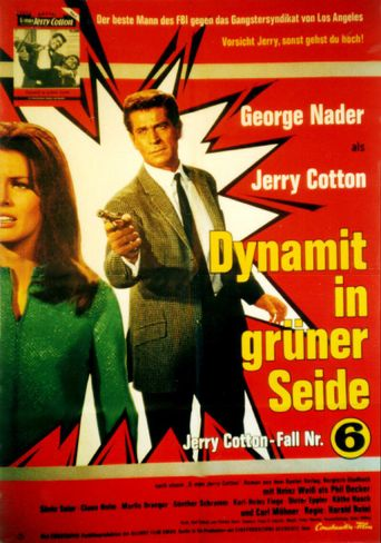 Jerry Cotton: Dynamite In Green Silk Poster