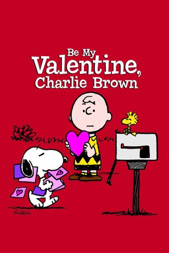 Be My Valentine, Charlie Brown Poster