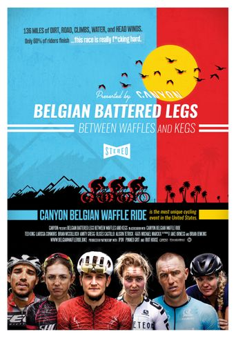 Belgian Battered Legs Between Waffles and Kegs Poster