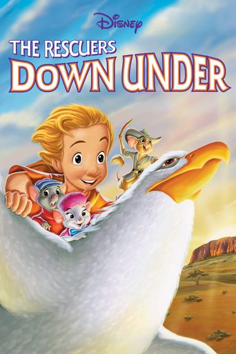 The Rescuers Down Under Poster