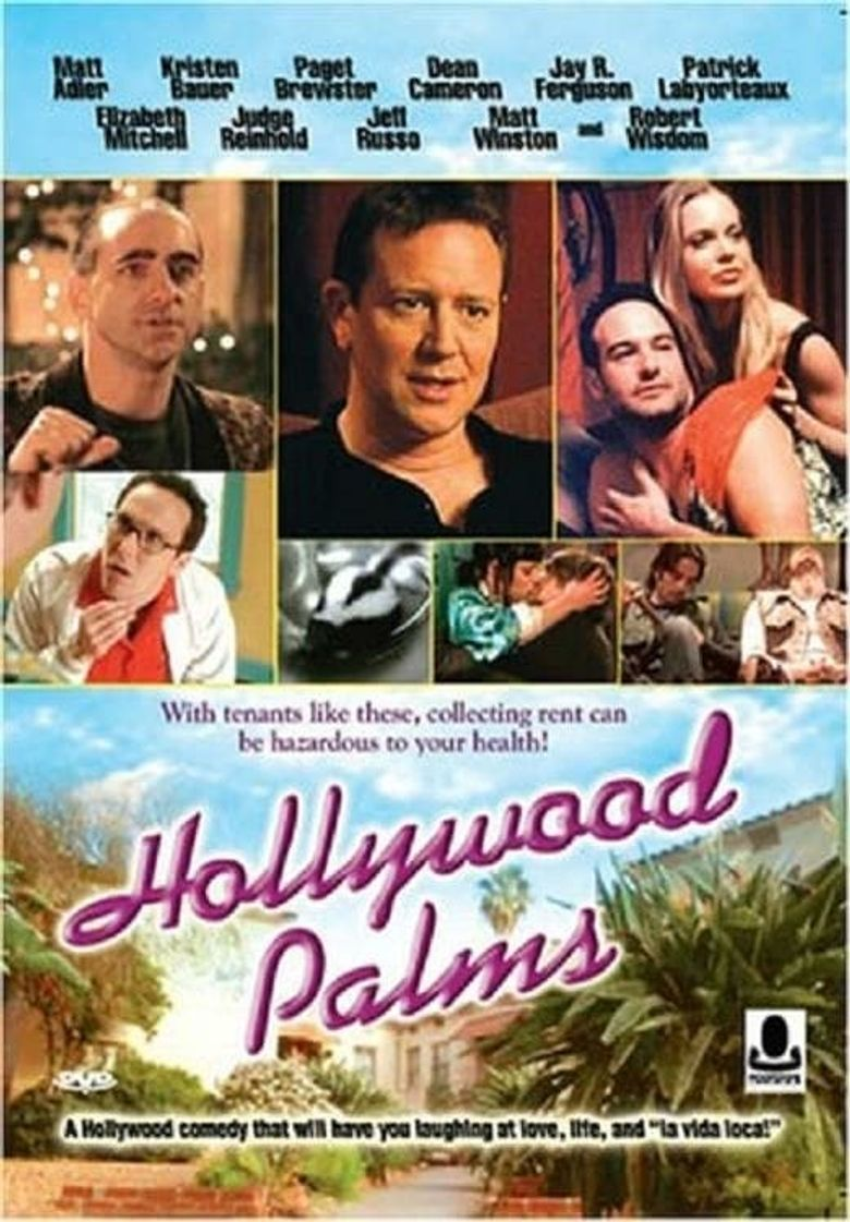 Hollywood Palms Poster