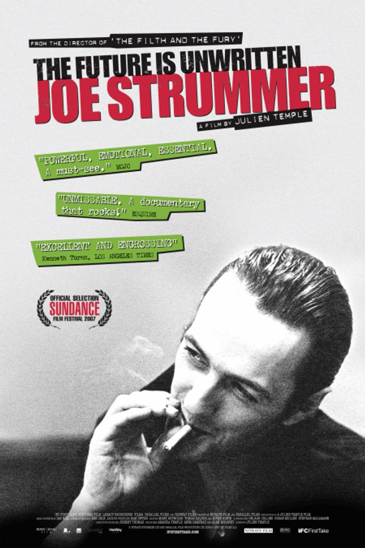 Joe Strummer: The Future Is Unwritten Poster