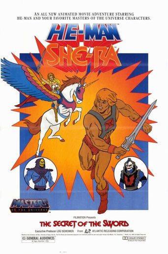 He-Man and She-Ra: The Secret of the Sword Poster