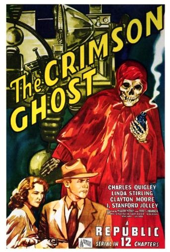 The Crimson Ghost Poster