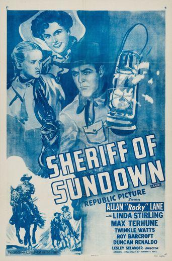 Sheriff of Sundown Poster