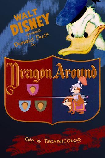 Dragon Around Poster