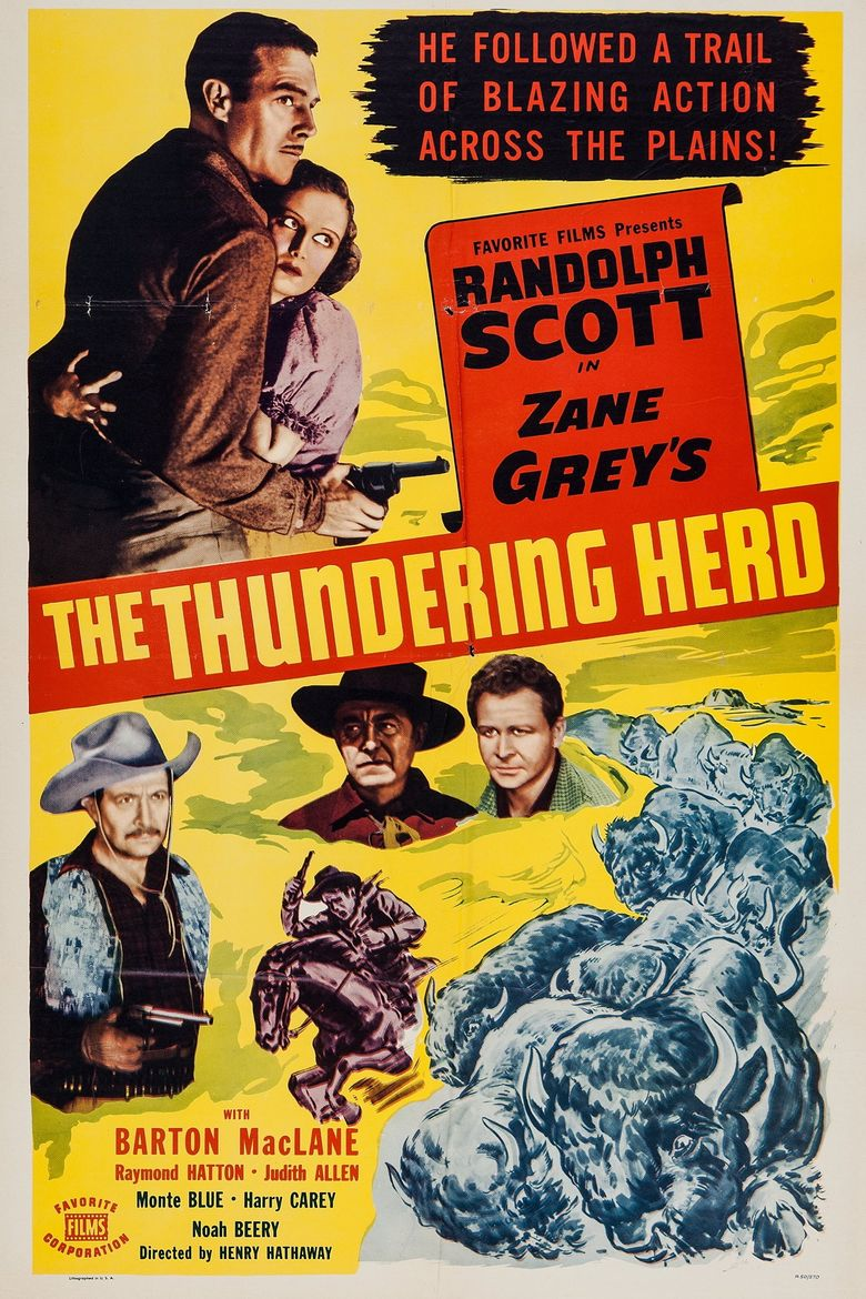 The Thundering Herd Poster