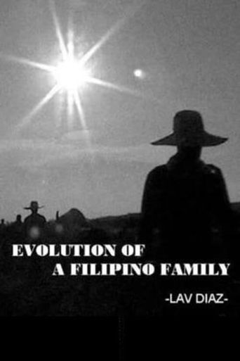 Evolution of a Filipino Family Poster