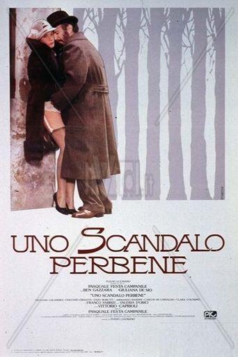 Uno scandalo perbene Poster