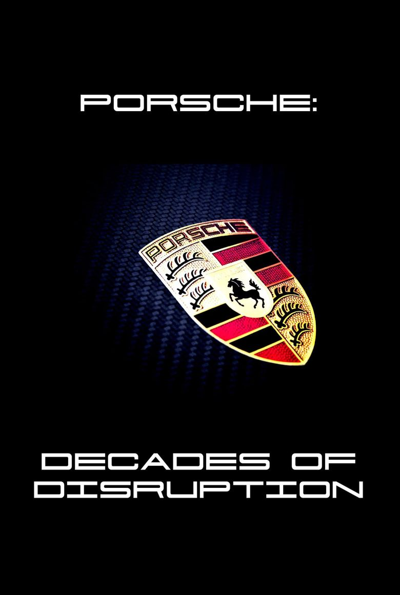 Porsche: Decades of Disruption Poster