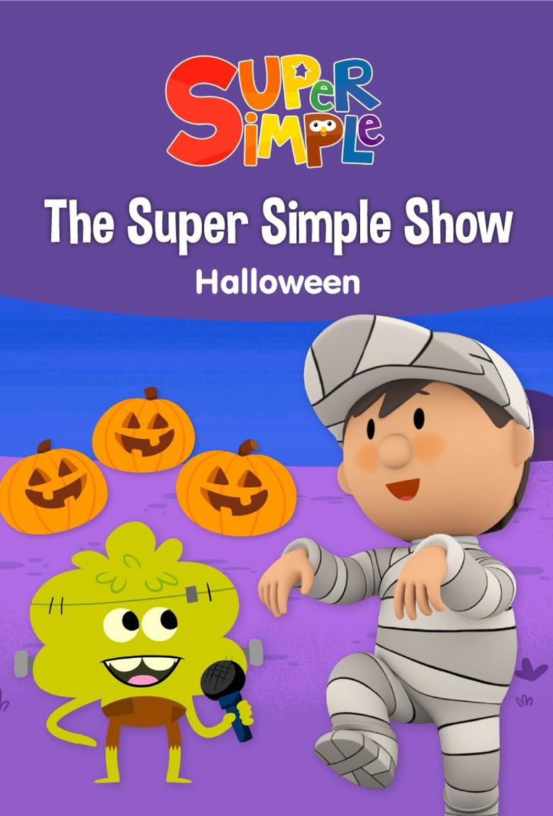 The Super Simple Show: Halloween Poster
