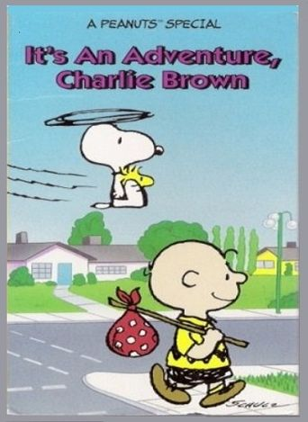 It's an Adventure, Charlie Brown Poster