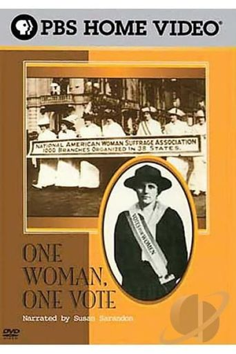 One Woman, One Vote: American Experience Poster