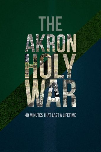 The Akron Holy War Poster