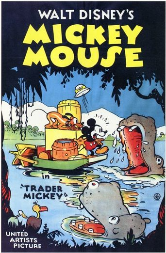 Trader Mickey Poster