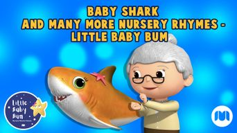 Baby Shark and Many More Nursery Rhymes - Little Baby Bum Poster
