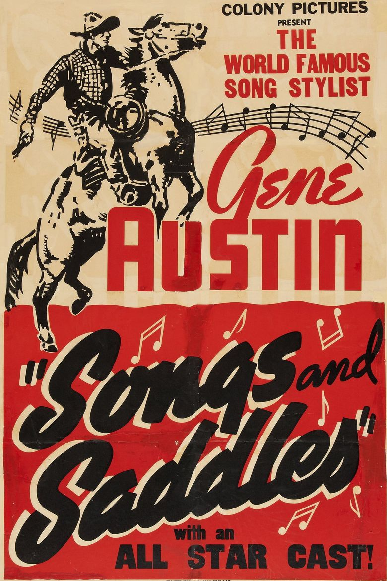 Songs and Saddles Poster