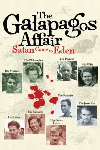 The Galapagos Affair: Satan Came to Eden Poster