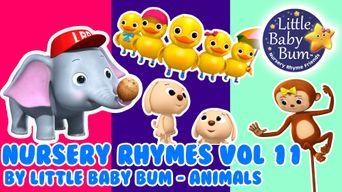 Nursery Rhymes Volumne 11 by Little Baby Bum - Animals Poster