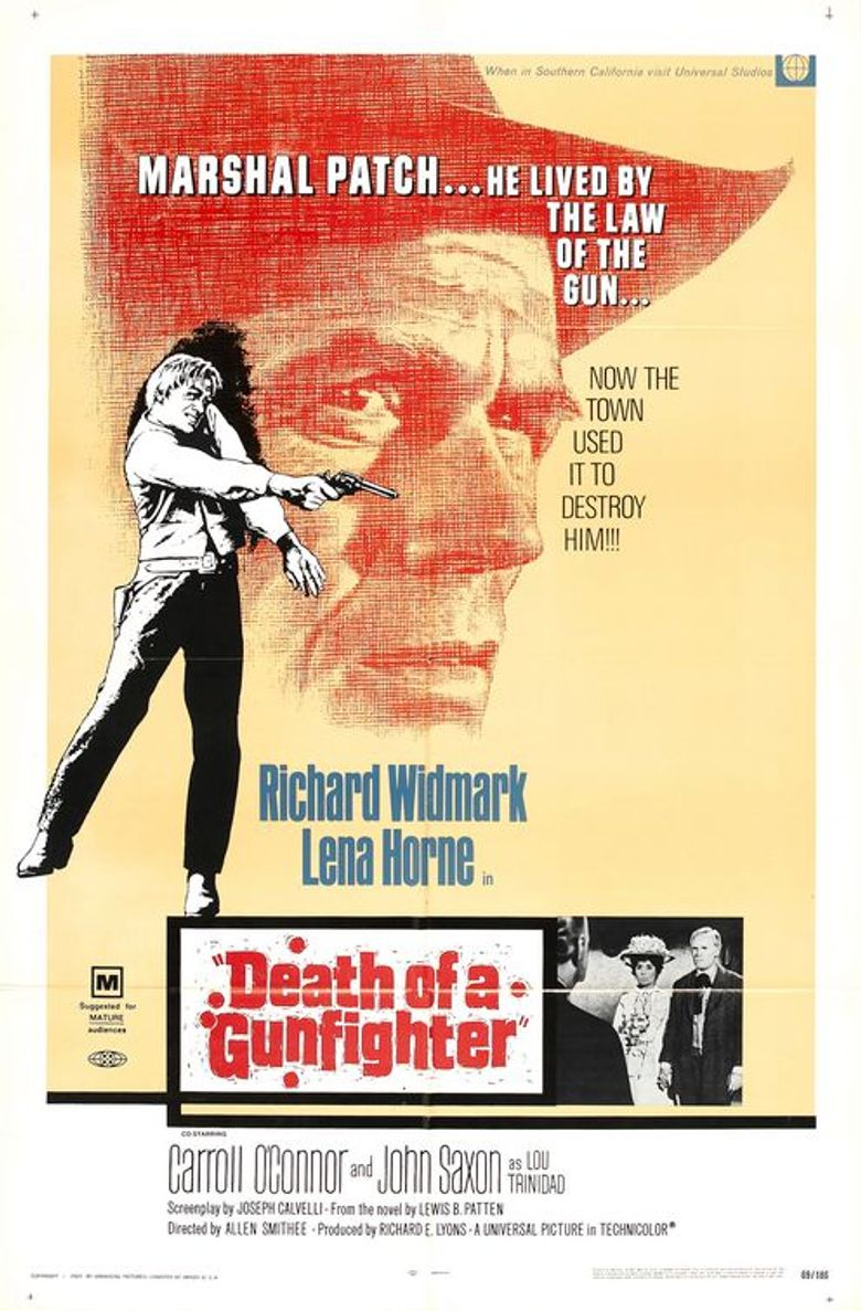 Death of a Gunfighter Poster