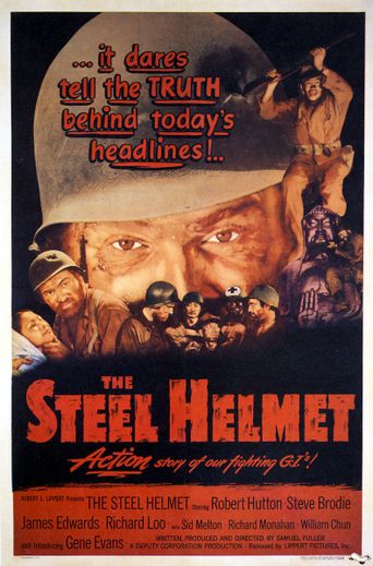 The Steel Helmet Poster