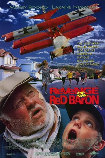 Revenge of the Red Baron Poster