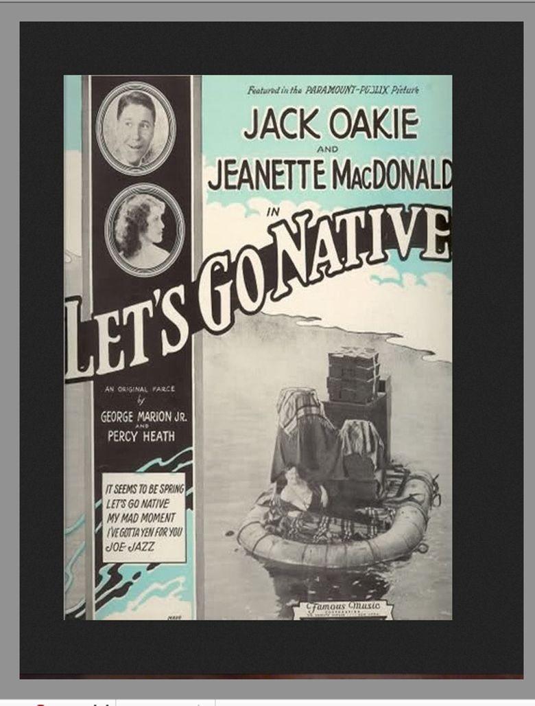Let's Go Native Poster