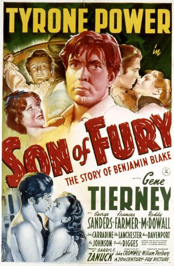 Son of Fury: The Story of Benjamin Blake Poster