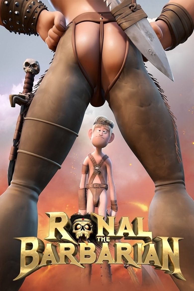 Ronal the Barbarian Poster