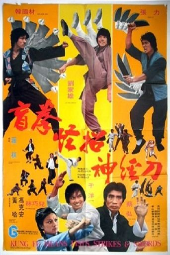 Kung Fu Means Fists, Strikes and Sword Poster