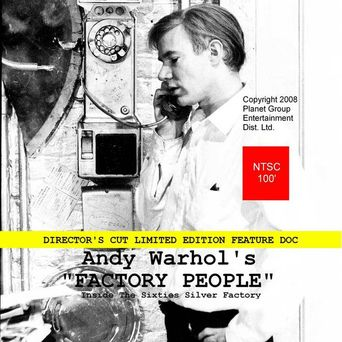 Andy Warhol's Factory People... Inside the Sixties Silver Factory Poster
