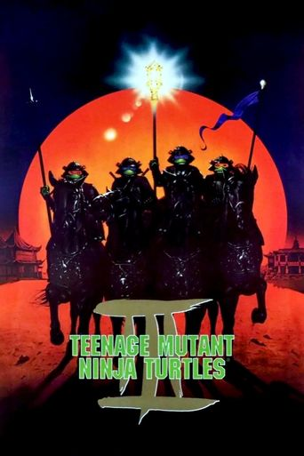 Teenage Mutant Ninja Turtles III Poster