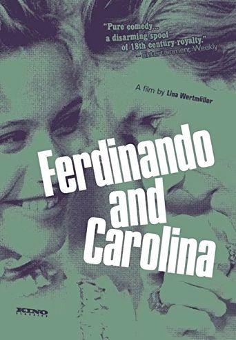 Ferdinando and Carolina Poster